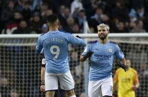 Aguero reaches 250 goal mark as City stumbles vs Palace