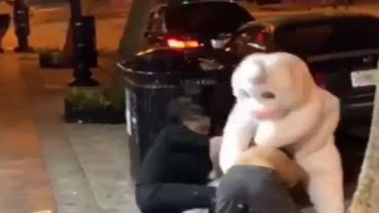 Easter Bunny throws punches in downtown Orlando brawl