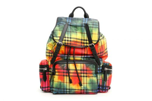 Advent Calendar Day 13: Burberry Backpack in Rainbow Tie-Dye