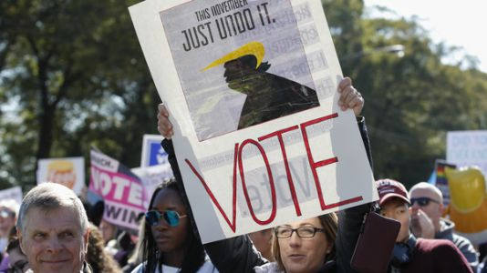 Voter Turnout Could Hit 50-Year Record For Midterm Elections