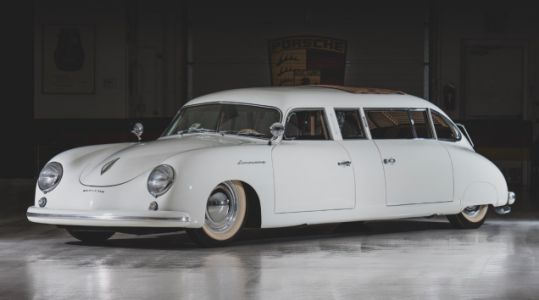 You Could Be the Next Owner of this Incredible Porsche 356 Limousine