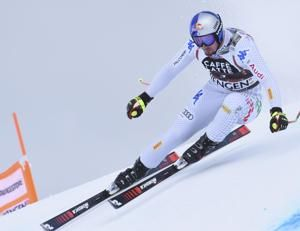 Paris wins World Cup downhill practice; Mayer clocks 89mph