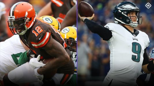 Fantasy Football Updates: Josh Gordon possibly nearing return; Carson Wentz, Nick Foles, Samaje Perine injuries