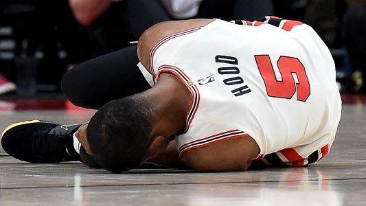 Rodney Hood injury update: Trail Blazers forward tears Achilles