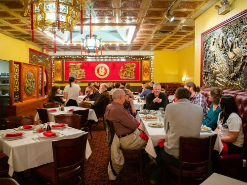 What Does It Take to Run a Busy Chinese Restaurant on Christmas Day?