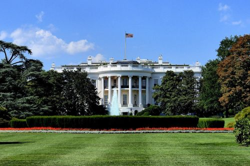 The White House lawn has developed a mysterious sinkhole that's 'growing larger by the day'