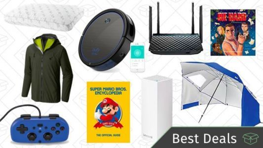 Thursday's Best Deals: Networking and Storage Sale, Robotic Vacuum, Reader-Favorite Pillow
