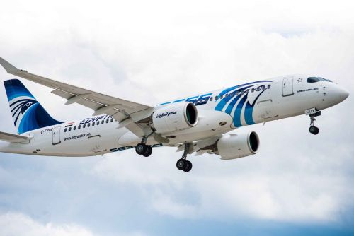 First A220 delivery to EGYPTAIR