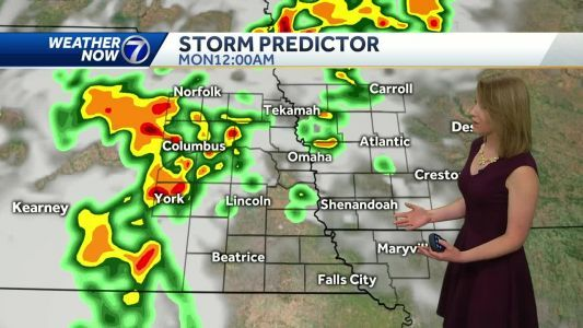 Storms chances bring potential for heavy rain and severe weather
