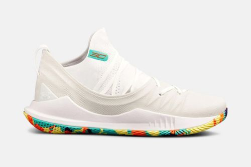 "Under Armour Gets Colorful With the Curry 5 ""Confetti"""