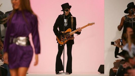 Remembering the time Prince invaded the stage at London Fashion Week