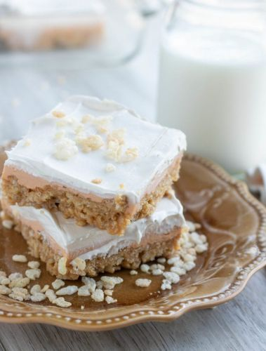 Cheesecake Scotcheroo Bars