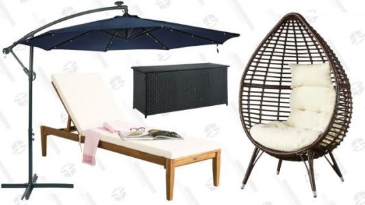 Get Comfy Outside With Wayfair's Giant Outdoor Sale