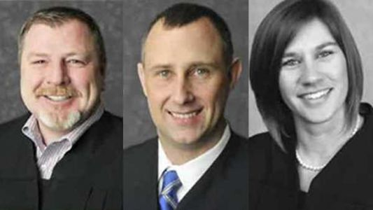Southern Indiana judges suspended over fight in Indianapolis that led to shooting