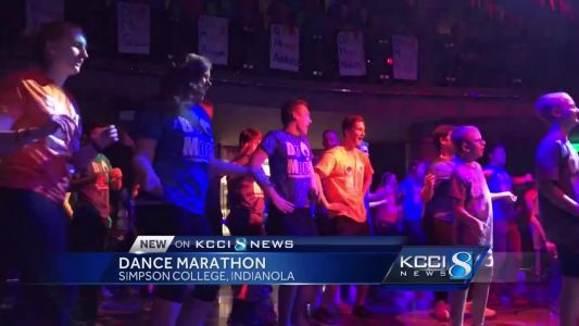 Simpson holds dance marathon to benefit children's hospital