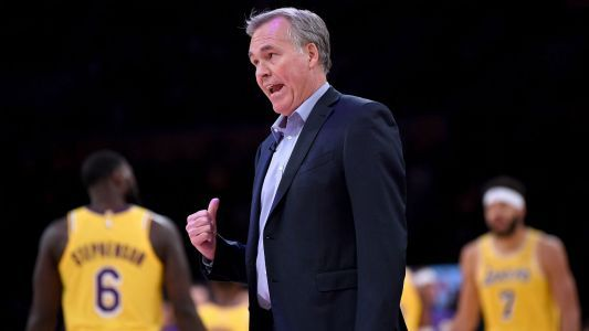 Mike D'Antoni backs NBA to 'sort out' Lakers-Rockets brawl