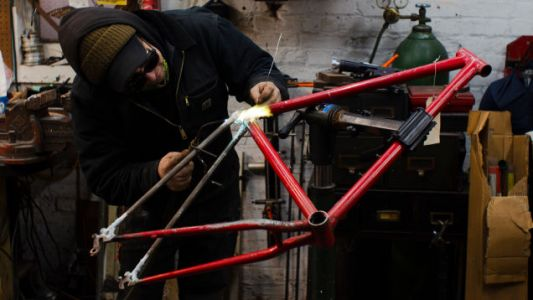 How To Braze A Broken Old Schwinn Mountain Bike's $150 Frame Back Together