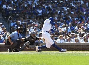 Cubs hit 3 homers, beat Pirates 8-3 to complete 3-game sweep