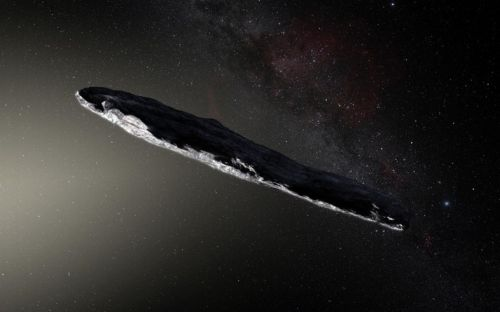 Scientists are probing this strange oblong for alien life