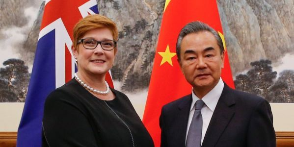It looks like China and Australia are ready to cooperate in the South Pacific, but not everyone is on board