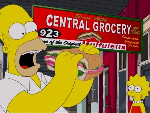 Homer Simpson Plows Through Dozens of New Orleans Restaurants on 'The Simpsons'