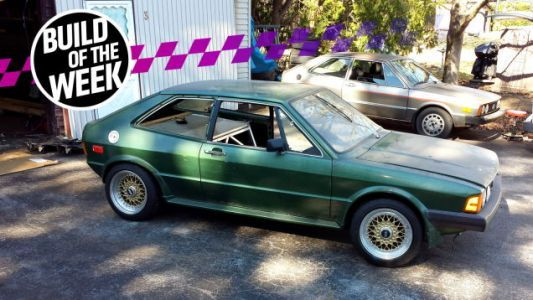 This Guy 'Fixed' His Volkswagen Scirocco By Making It A Mid-Engine VR6