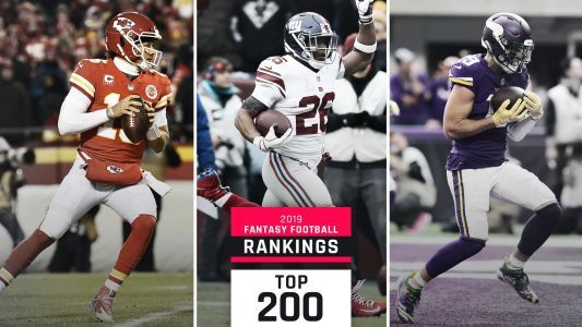 2019 Fantasy Football Rankings: Top 200 Cheat Sheet