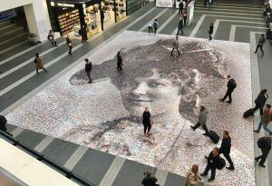 Last Chance To See Hugely Popular 'Face Of Suffrage' Photo Mosaic At Birmingham New Street