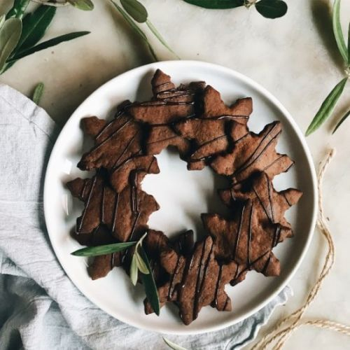 Crispy Chocolate Gingerbread
