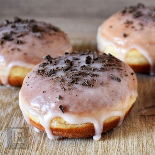 Rum Donuts with Rum Glaze