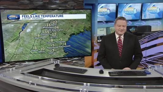 Watch: Windy and cold Thanksgiving