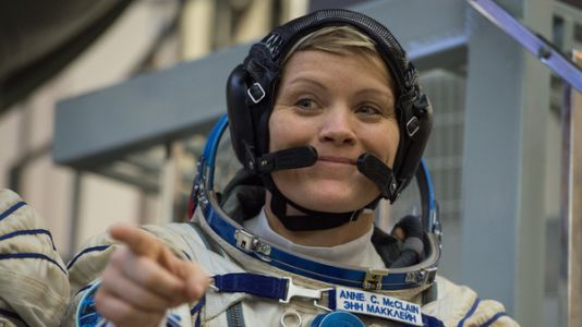 'Every Day Is A Good Day When You're Floating': Anne McClain Talks Life In Space