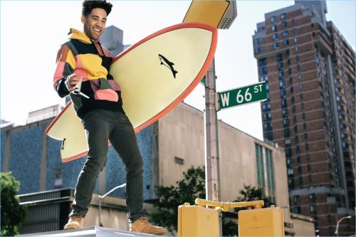 KYLE Visits the Big Apple for Footaction's UGG Campaign