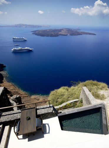 Santorini's Vora Private Villas Is a Dreamy Refuge with Design