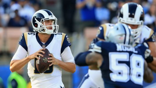 Week 4 NFL picks straight up: Rams stun Cowboys; Buccaneers bury Giants