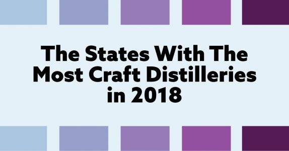 The States With the Most Distilleries in America in 2018