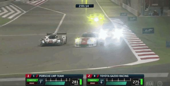 Porsche On Porsche Carnage Takes Porsche 919 Out Of Leading Its Last Race