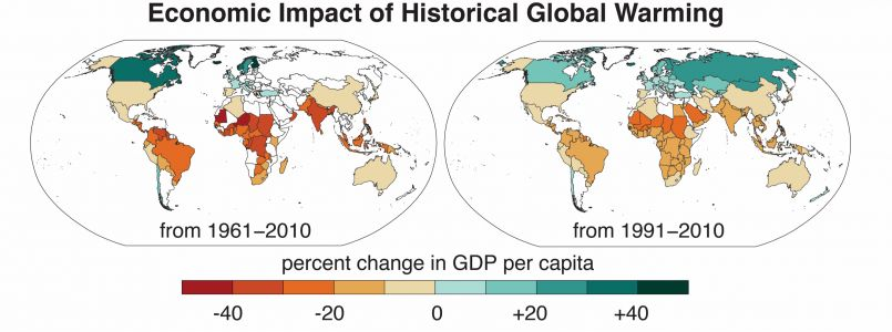 Climate change is already exacerbating global economic inequality