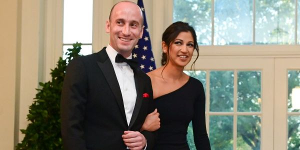 Katie Miller, Mike Pence's spokeswoman and Stephen Miller's wife, returns to work after negative coronavirus tests, announces she's pregnant