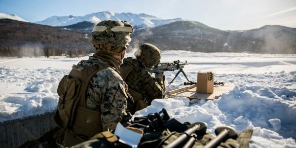 Take a look at Arctic Edge 18 - where the US military is preparing to fight in the extreme cold