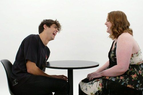 Watch Noah Centineo Compliment Shannon Purser for 3 Minutes in