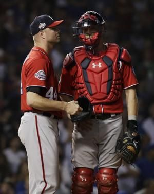 Nationals place Madson on DL with back injury