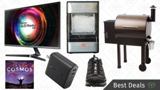 Saturday's Best Deals: Quantum Dot Monitor, Anker PowerCore Fusion, Nugget Ice, and More