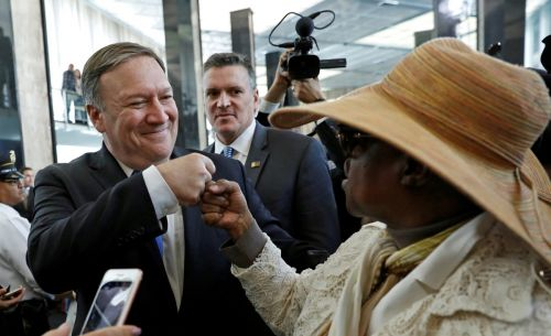 New Secretary of State Mike Pompeo off to a running start, vows bring back US diplomatic 'swagger'