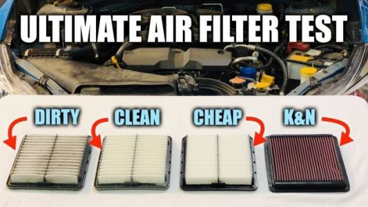 Here's the Difference Between a Regular and a Performance Air Filter