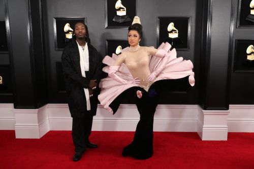 Cardi B's Grammys Look Is Basically a High-Fashion, Extra AF Oyster Costume