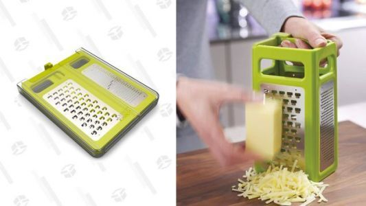 This Space-Saving Cheese Grater Has Never Been Cheaper