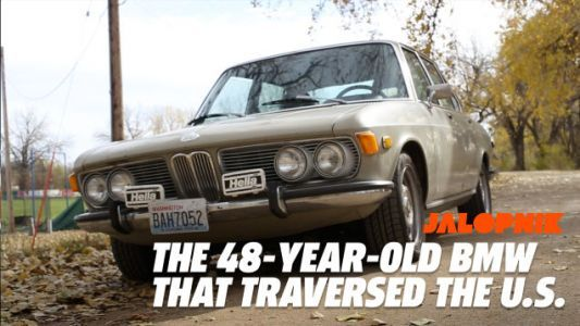 Here's the Majestic 1970 BMW 2500 We Drove From Seattle to New York