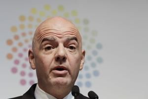 Infantino hopes 'dreams come true' over Qatar sharing WCup
