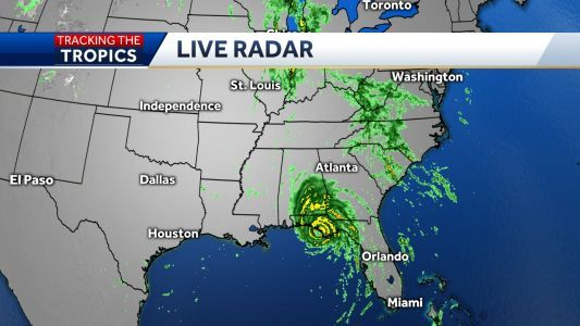 Hurricane Michael making landfall on Florida's Panhandle as 'extremely dangerous' Category 4 storm